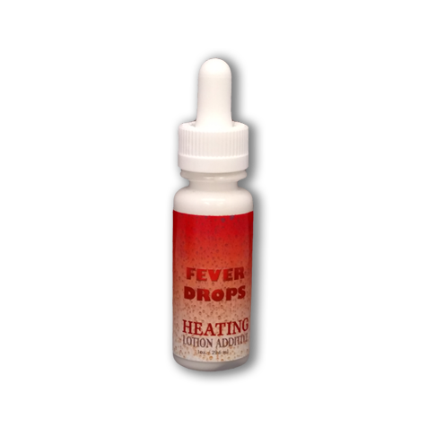 Fever Heating Drops - Tanning Lotion Additive Drops