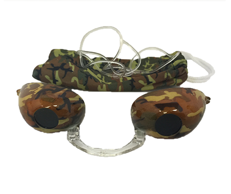 Camouflage Fashion Podz - Fashionable Tanning Goggles with Case