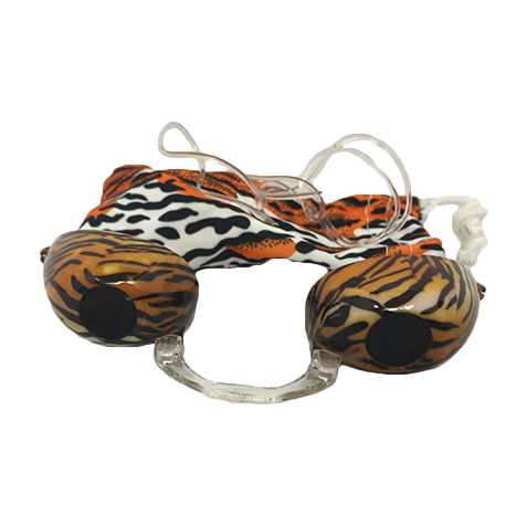 Tiger Stripes Fashion Podz - Fashionable Tanning Goggles with Case