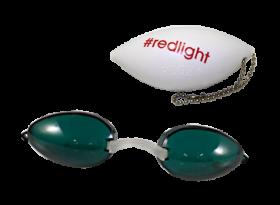 Green RedLight Soft Podz - Soft Tanning Goggles