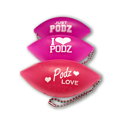 Pink Soft Podz - Soft Tanning Goggles